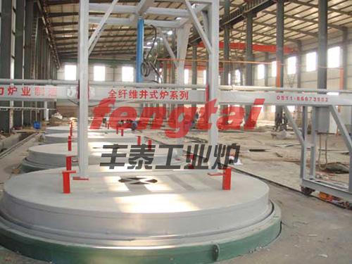 大型井式类似抓饭直播的网站法兰环件热处理炉