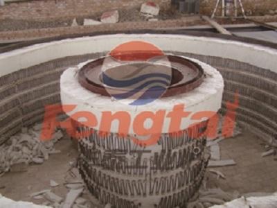 井式电阻炉施工现场
