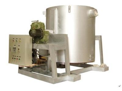 倾斜熔化电阻炉