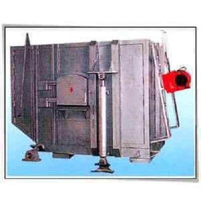 可顷式熔铝燃油炉