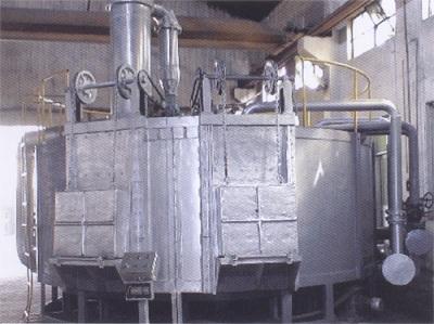 转底式燃气模壳焙烧炉