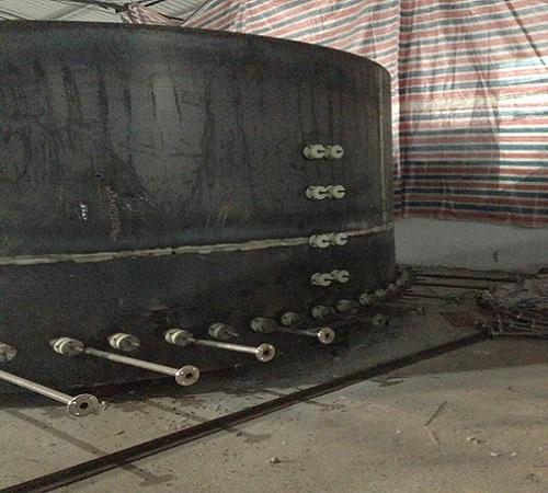大型井式炉安装施工图