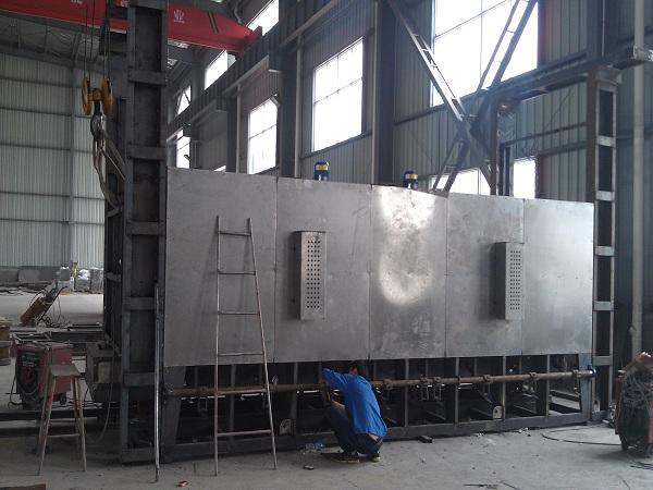 丰泰箱工炉安装施工图